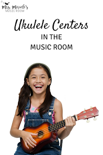 Ukulele Centers in the Music Room: Ideas for implementing centers for ukulele in your music lessons