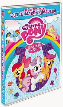 My Little Pony, Friendship is Magic, Adventures of the Cutie Mark Crusaders dvd cover