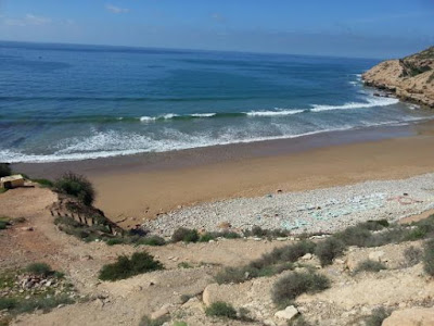 Taghazout beach morocco