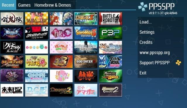 Download Kumpulan Games PSP/PPSSPP ISO Hp android Terbaru