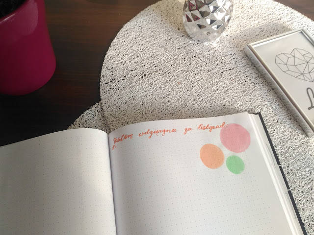 gratitude log w Bullet Journal