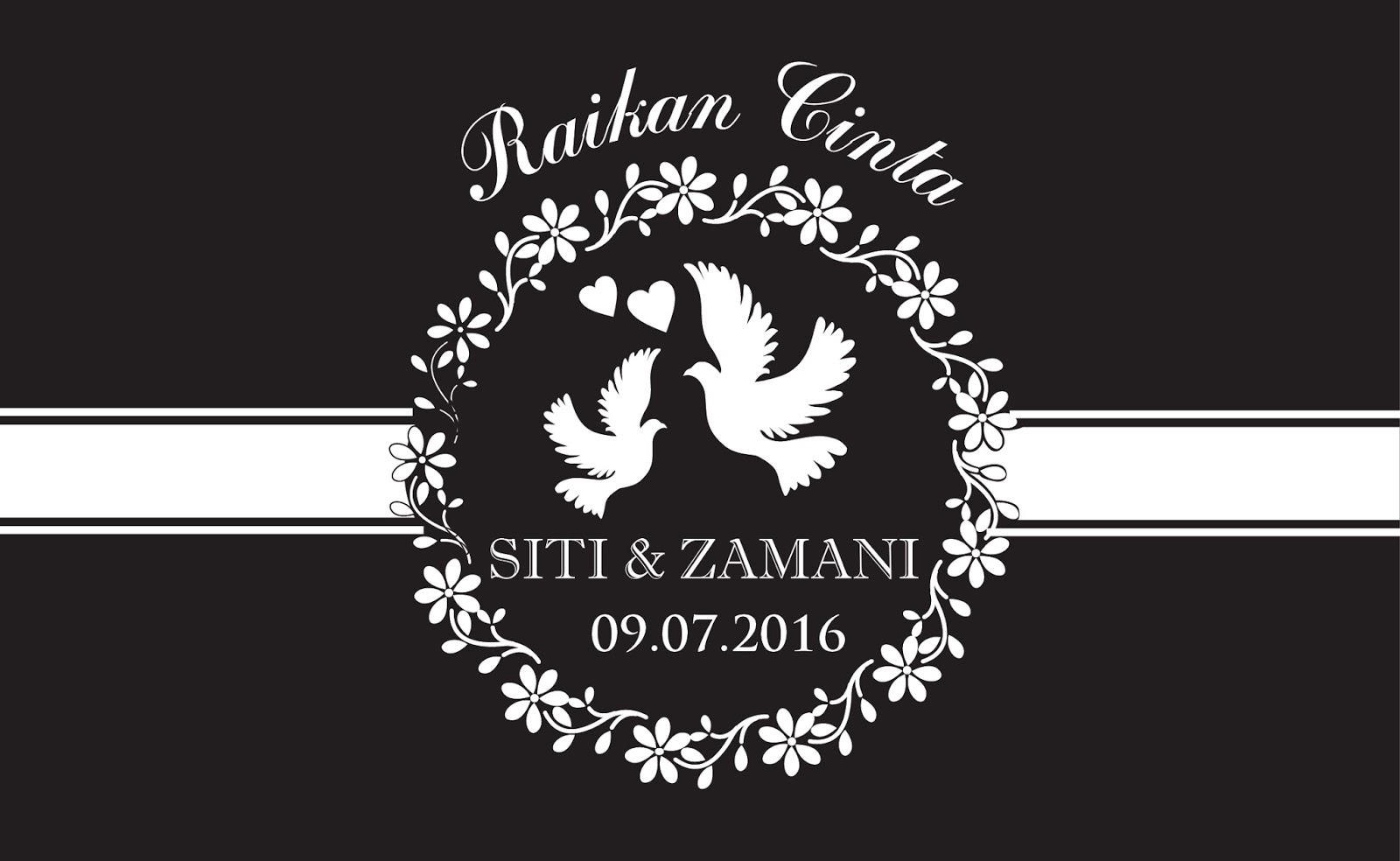 Kiz Wedding Contoh Design Kad Kahwin Terbaru Siti Dan Zamani
