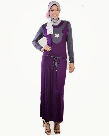 Desain Baju Muslim Gamis 2017