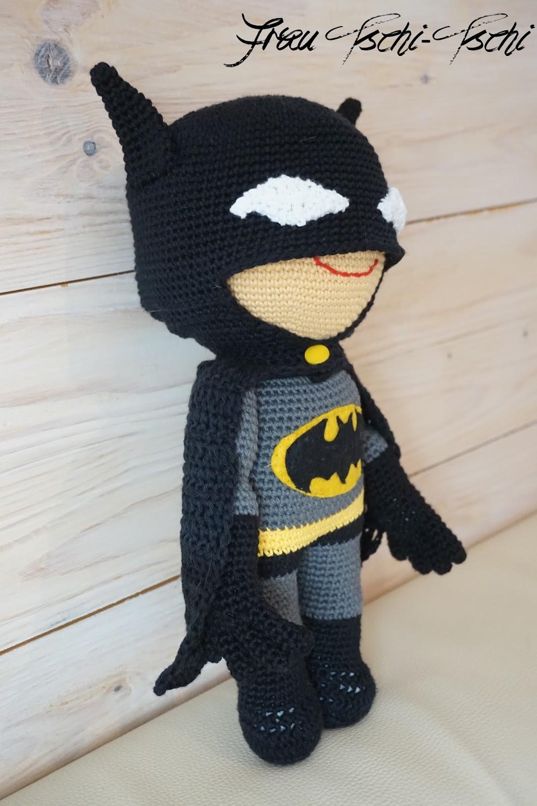 Frau Tschi Tschi Batman Amigurumi Anleitung Kostenlos