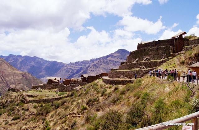 Peru, sítio arqueológico de Písac, Vale Sagrado