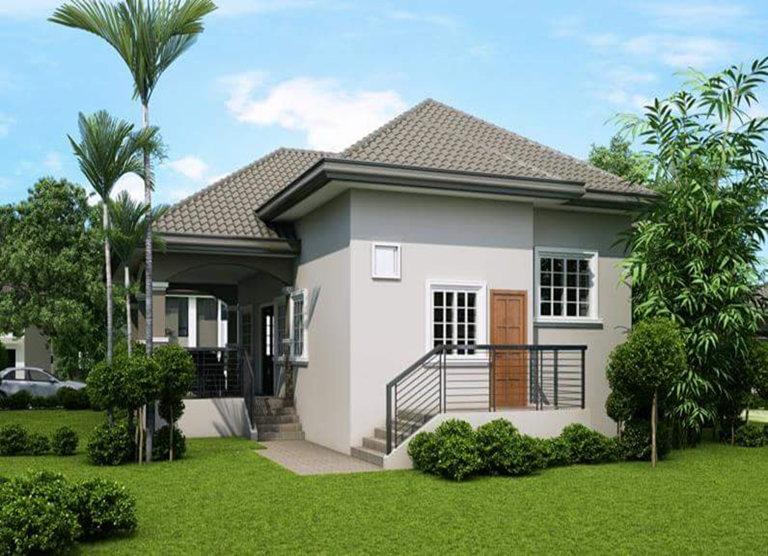 50 photos of small beautiful and cute bungalow custom home designs - Cute small house plans ...