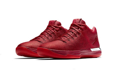 "size 40 8f92d 16697 A Chicago Bulls ""Home"" version of the Air Jordan 31 Low is on the way and  that will be joined with this ""Away"" version in all red. This colorway will  be ..."