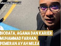 Biodata, Agama dan Perjalanan Karier Muhammad Farhan, Pemeran Ayah Milea