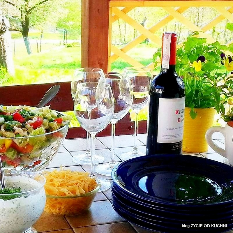 grill, grillujemy, co na grill, pomysly na grill, majowka, weekend, blog, zycie od kuchni, altana, ogrod
