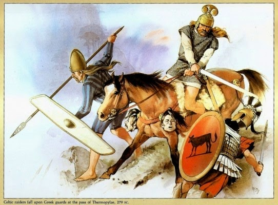 http://2.bp.blogspot.com/-BkoIZ59R9pg/VTeVvhz4-zI/AAAAAAAA-a0/41xMX-QMnRo/s1600/Celtic-or-Galatian-raiders-attack-Greek-guards-at-the-pass-at-Thermopylae-270-BC.-Art-Angus-McBride.-542x400.jpg