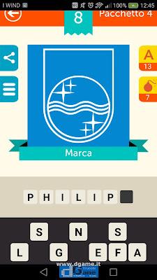 Iconica Italia Pop Logo Quiz soluzione pacchetto 4 livelli 8-75