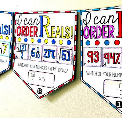 ordering Real numbers pennant