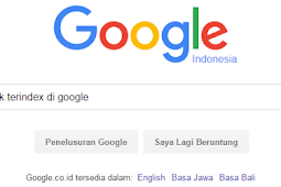 Penyebab Blog Tidak Terindex Di Google Dan Mengatasinya
