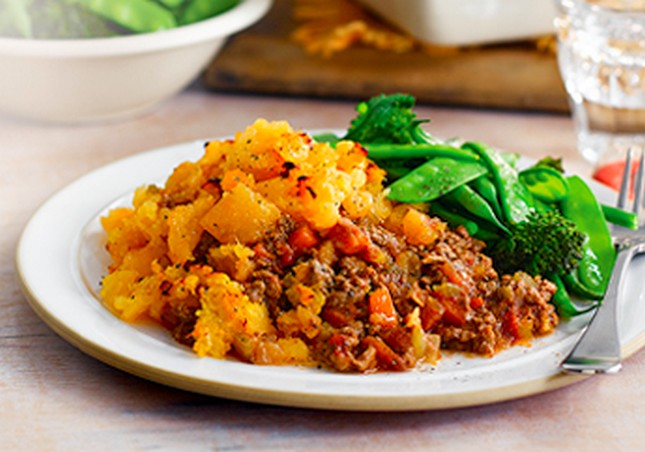 Slimming World Cottage Pie With Swede Mash Topping