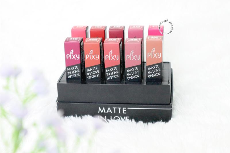 Pixy Matte In Love Lipstick