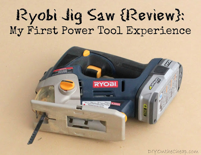 Ryobi Cordless Jig Saw: Easy to use and perfect for DIY projects.
