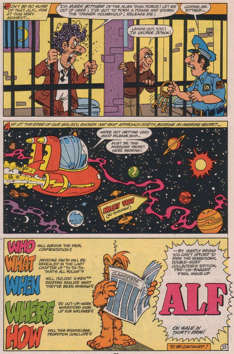 Read online ALF comic -  Issue #49 - 31