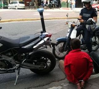 Εξιχνιάστηκε υπόθεση κλοπής μοτοσικλέτας - Συνελήφθη 22χρονος ημεδαπός