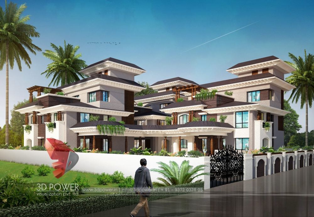 Ultra modern home designs home designs for 3d images of bungalows