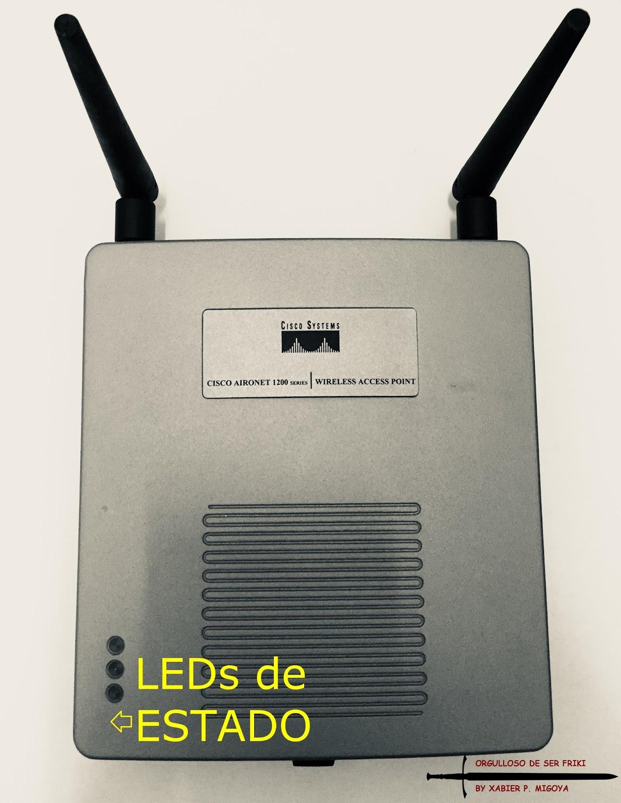 Como resetear a valores de fabrica un AP Cisco AIRONET 1200 Series