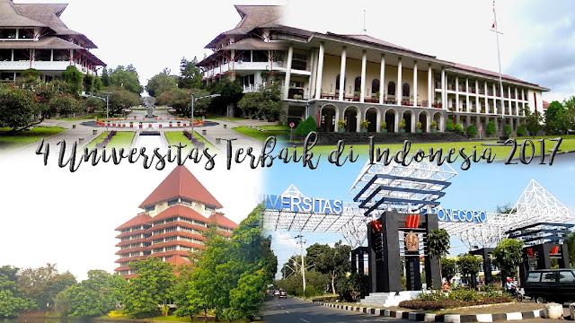 4 Universitas Terbaik di Indonesia 2017