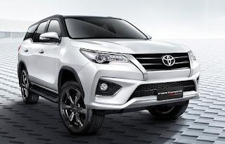 2018 Toyota Fortuner: les spécifications, le prix, date de sotie