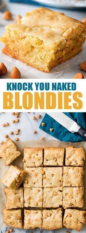 Blondie Recipe Blondierecipe Dessert Brownies Kite S