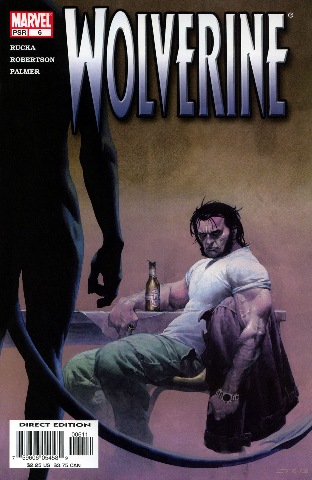 Read online Wolverine (2003) comic -  Issue #6 - 1