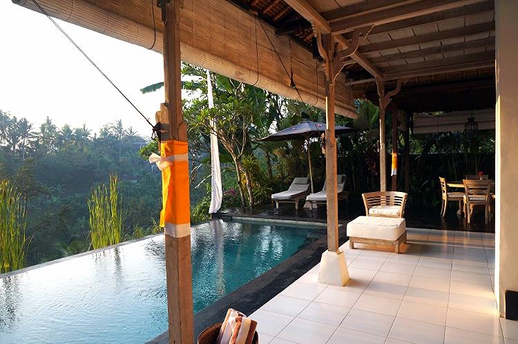 Euriental   travel and fashion   Villa Shamballa pool, Ubud, Bali