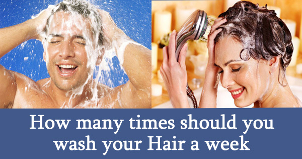 How many times should you wash your Hair a week