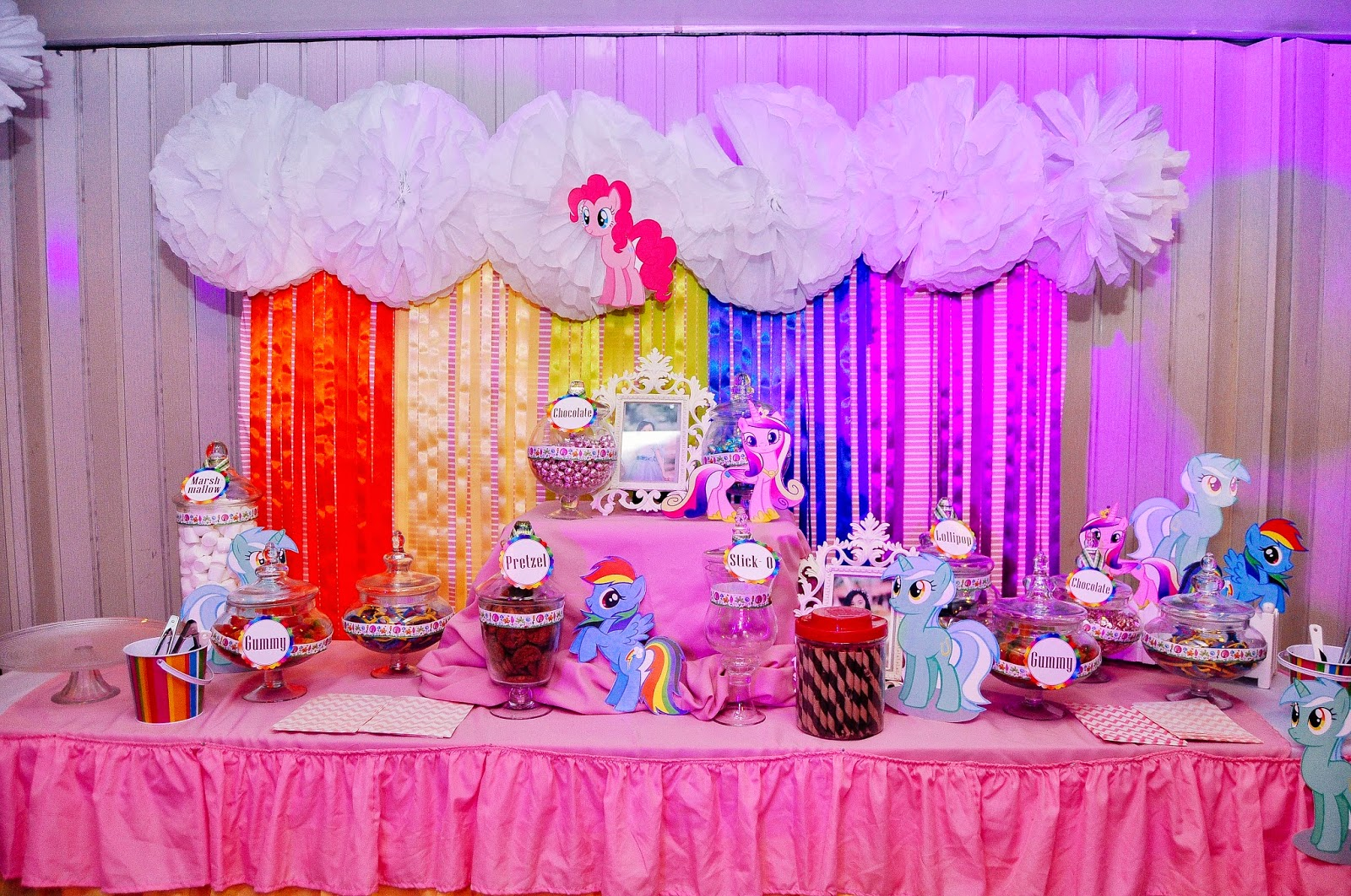 Maia S Rainbow Dash Pony 7th Surprise Birthday Party