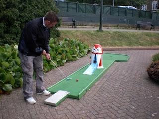 Crazy Golf course in Hunstanton