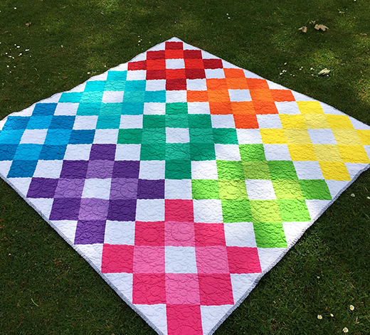 Granny Square Quilt Free Pattern