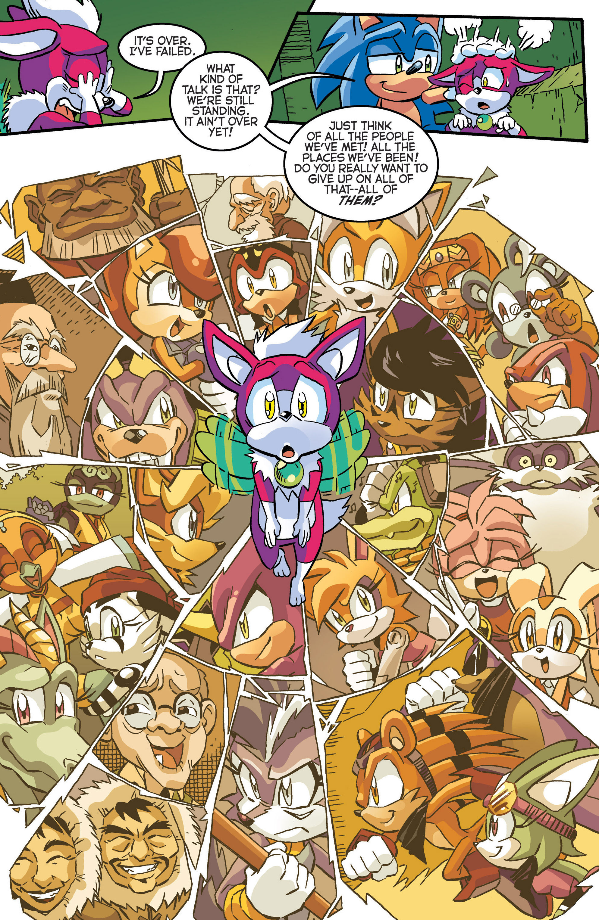 Read online Sonic The Hedgehog comic -  Issue #286 - 20