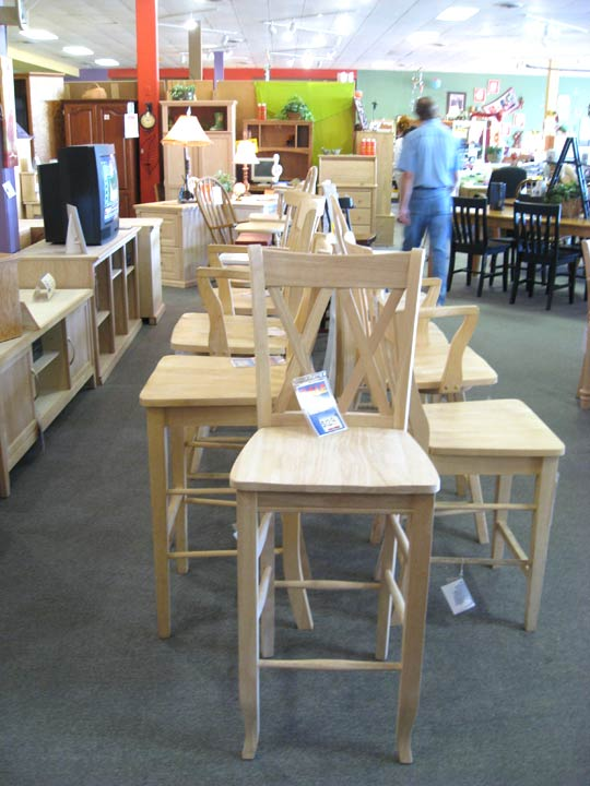 unfinished wood furniture chairs
