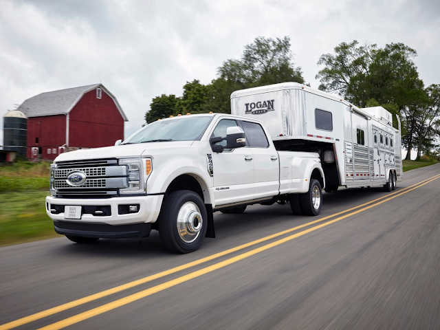 2017 Ford F-Series Super Duty Comes Standard with Adaptive Cruise Control