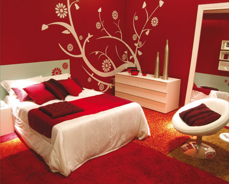 Red Interior Designs Picture :