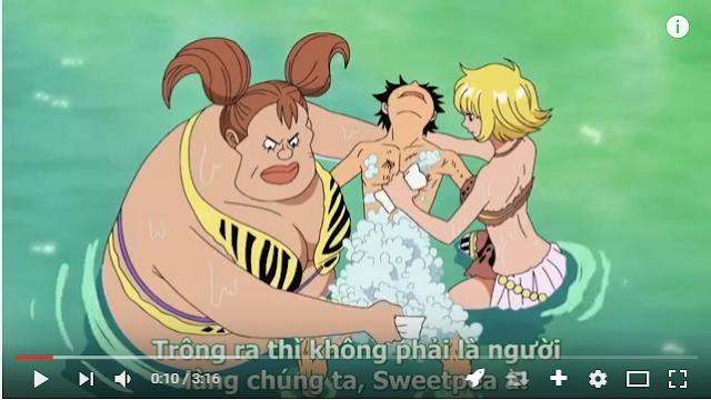 Luffy mũ rơm lần đầu bị mất trinh trên đảo Rusukaina