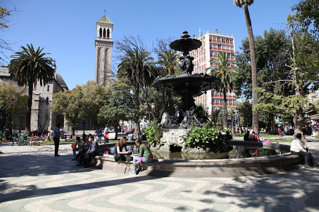 Dia 2 em Valparaíso