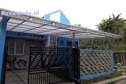 Jasa Canopy Stainless Minimalis di Jakarta, Bogor, Depok, Tangerang, Bekasi, Bandung, dan Cirebon