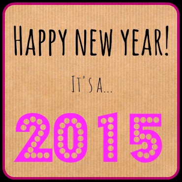 Happy new year 2015 pink