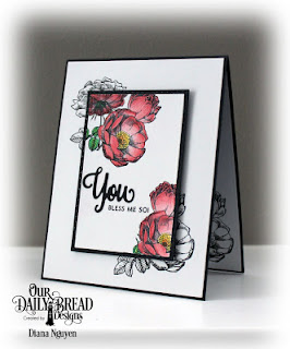 Diana Nguyen, Our Daily bread designs, ODBD, Fragrance, rose, CAS, card