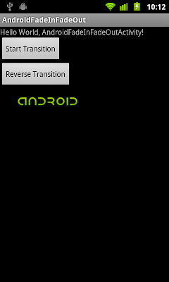 Implement Fade-Out transition effect using TransitionDrawable.reverseTransition()