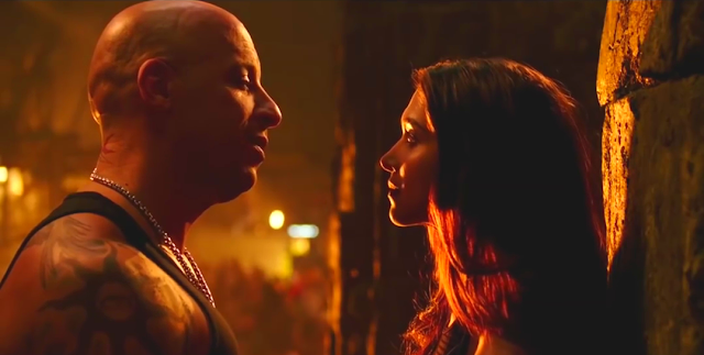 xXx: Return of Xander Cage, Vin Diesel, Deepika Padukone, Cozy, Kiss