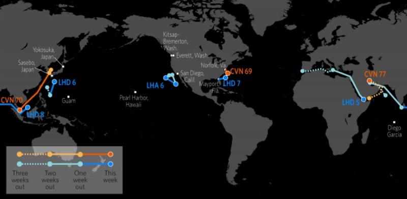 Us Navy Ships Google Maps
