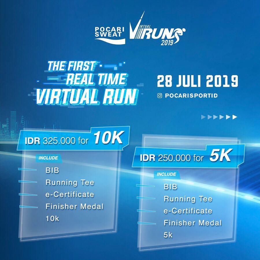 Pocari Sweat Virtual Run • 2019