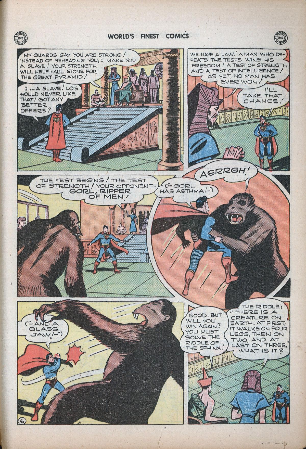 Read online World's Finest Comics comic -  Issue #32 - 65
