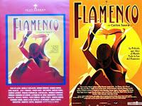"""MANUEL MONEO""""FLAMENCO DE CARLOS SAURA LARGOMETRAJE EDITADO EN VHS Y POSTERIORMENTE EN DVD EN 1995 DONDE mANUEL mONEO JUNTO A MANUEL AGUJETAS ROMPEN LA PANA"""