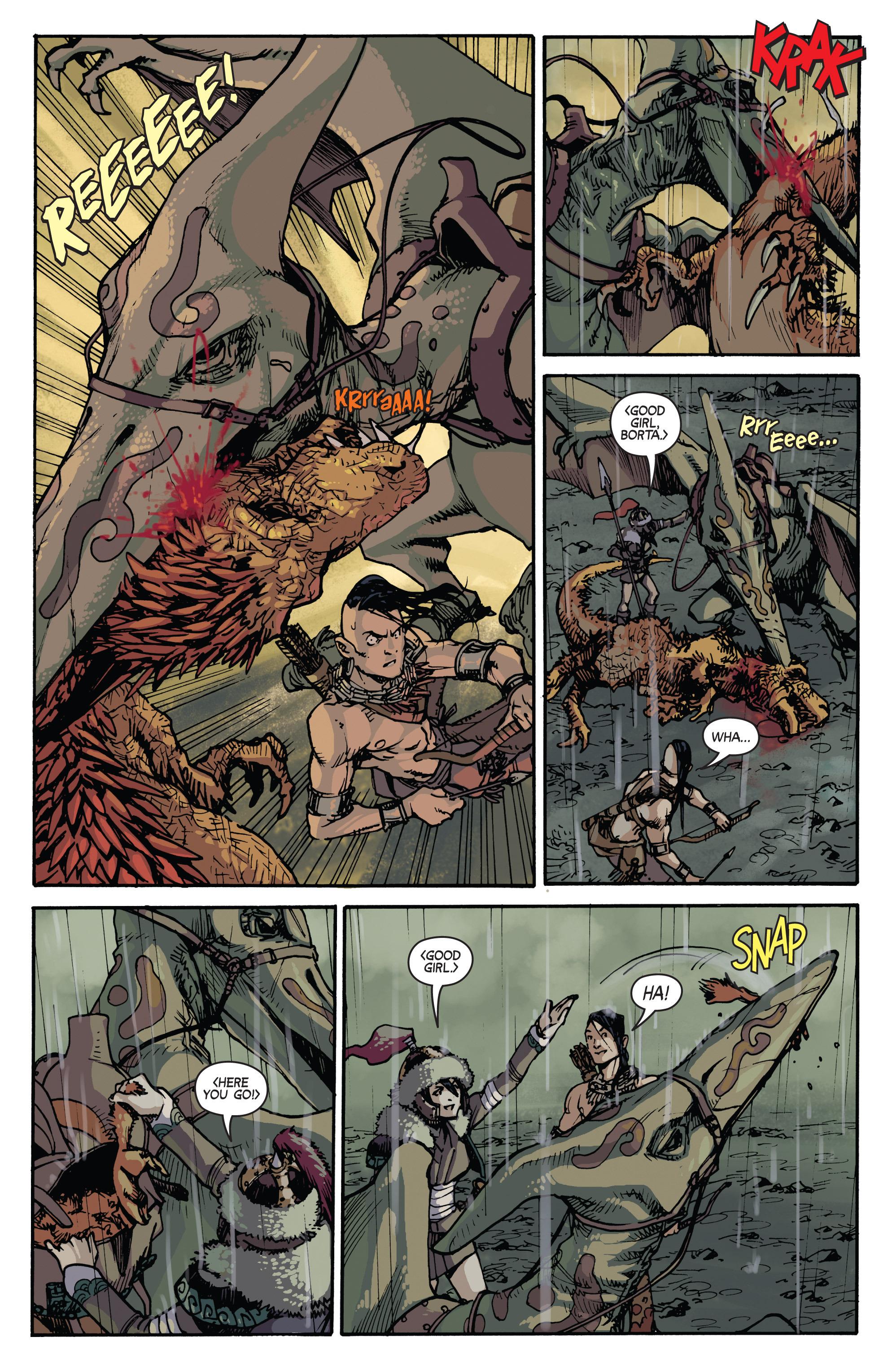 Read online Turok: Dinosaur Hunter (2014) comic -  Issue # _TPB 2 - 13