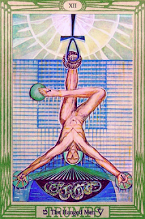Magick of the Solstice IAO: Crowley Thoth Hanged Man XII Tarot